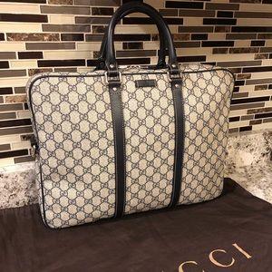 Men's Gucci briefcase